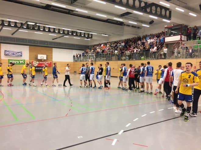 Herren I – BOL – MHV Schweinfurt 09 vs. HSG Volkach – 27:25 (14:12)